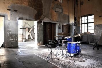 2015 Andreas trummor Kraftstationen Pukeberg Småland Foto Jonas Andersson